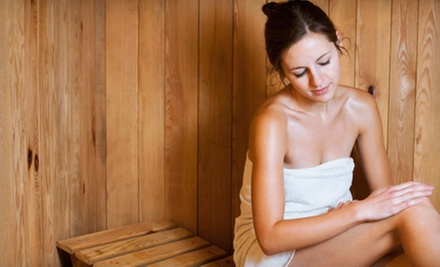 One or Five 30-Minute Detox-Sauna Sessions at Summer Illusions Tanning Studios (Up to 74% Off)