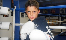 $29 for 30 Cardio Kickboxing, Boxing, and Fitness Classes for Kids at Bad Boy Boxing Gym ($450 Value)