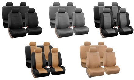 Faux Leather Car Seat Covers