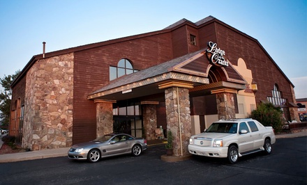 Stay with Daily Dining Voucher at Lodge Of The Ozarks in Branson, MO. Dates Available into July.