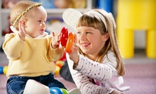 $65 for Indoor Play Package with Three Kids' Classes and Five Play-Space Passes at Kidville (Up to $246 Value)