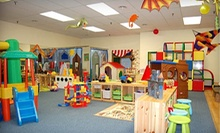 5 or 10 Hours of Child Care at BizzyBee Playcentre (Up to 68% Off)