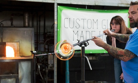 $52 for Percolla Reed Glassblowing Class for One, Redeemable Weekdays or Weekends at Glass Academy ($100 Value)