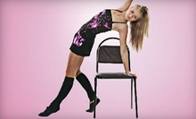 One or Five Chair-Dancing Fitness Workshops at Risque Fitness (Up to 69% Off)