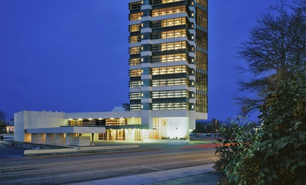 groupon daily deal - 1- or 2-Night Stay for Two in a Standard Queen, King, or Double-Queen Room at Inn at Price Tower in Northern Oklahoma
