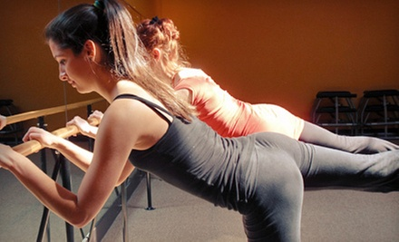 5 or 10 Barre Classes at Time Out Pilates & Fitness Studio
