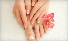 $27 for a No-Chip Manicure and a Regular Pedicure at Laverne Carroll Hair &amp; Nail Lounge ($55 Value)