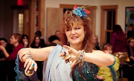5 or 10 Belly-Dancing Classes at The Dancing Spirit Studio in Tiverton (Up to 58% Off)