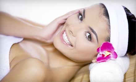 Deep-Tissue or Relaxation Massage, Anti-Aging or Calming Facial, or Massage and Facial at Chans Day Spa (Up to 59% Off)
