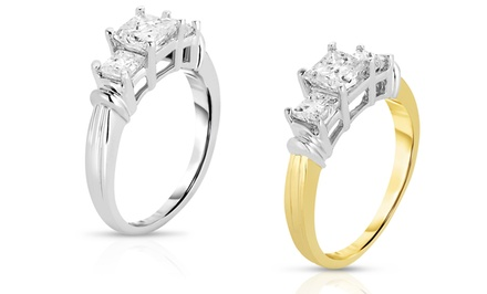 1.00 or 1.50 Ct.T.W. Certified Diamond Ring in 14K Gold from $599.99—$799.99. Free Returns.