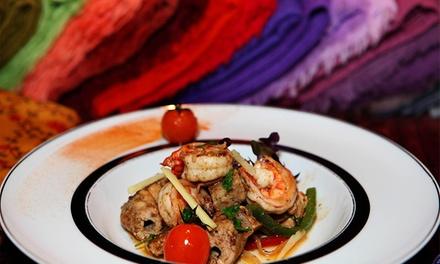 Tamarind — Restauradores: menu indiano para 2 pessoas com entradas, pratos principais, sobremesas e cafés desde 27,90€