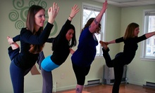 10 Yoga Classes or One Month of Unlimited Yoga Classes at Spiral Tree Yoga & Wellness Studio (Up to 45% Off)