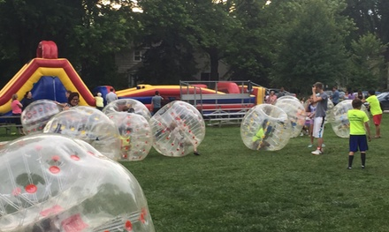 Up to 50% Off 1-hr Game with 10 or 20 Bubbles at Bubble Soccer Detroit