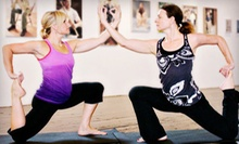 20 or 30 Yoga Classes at Lotus Yoga, Wellness & Gallery (Up to 59% Off)