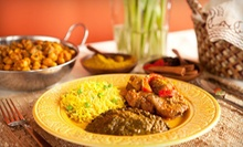 Indian Dinner Fare for Two or Four at Prince of India Restaurant (Half Off)