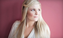 Haircut and Color Packages from Crystal Eldridge at Angell Salon & Spa (Up to 54% Off). Three Options Available.