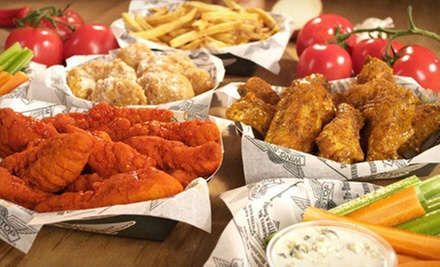 $15 for $30 Worth of Boneless Wings, Fries, and Drinks at Wingstop