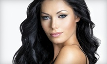 Conditioning with Haircut and Optional Color or Partial Highlights at L'Panache Threading & Hair Salon (Up to 60% Off)
