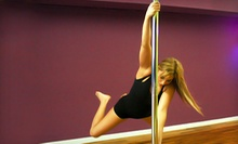 Two or Four Pole-Dancing Classes for One or Two at Tease Time Pole Fitness (Up to 67% Off)