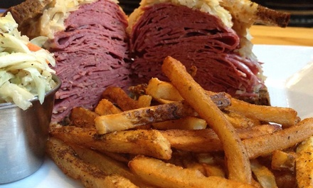 Breakfast Sandwich, Deli Meal, or Deli Meal for 4 at Heckman's Delicatessen (56% Off)