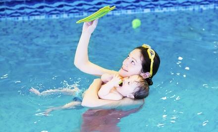 $111 for Eight Swimming Lessons plus Registration and Swim Cap at British Swim School ($191 Value)
