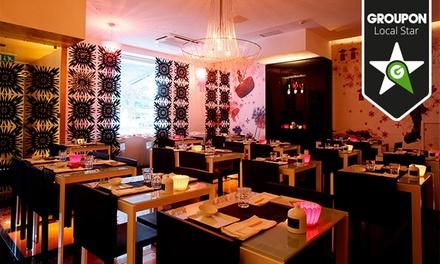 Estado Líquido Fusion Sushi — Santos: menu de sushi Fusion Especial com bebidas para duas pessoas desde 24,90€