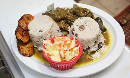 Caribbean Food at Spice It Up Cafe (40% Off). Two Options Available.