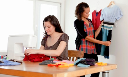 Three-Hour Basic Sewing Class for One or Two at The Laurianda Clothing Company (Up to 53% Off)