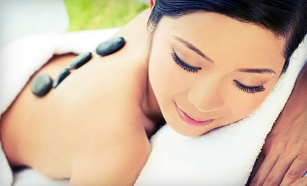 60- or 90-Minute Hot Serpentine-Stone Massage at Body Bliss Massage (Half Off)