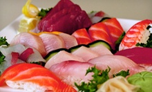 $25 for a Sushi Meal for Two with Appetizer, Sake, and Rolls at Kyushu Sushi (Up to $61 Value)