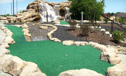 Miniature-Golf Outing for Two or Four at Aloha Falls Miniature Golf in Libertyville (Up to 53% Off)