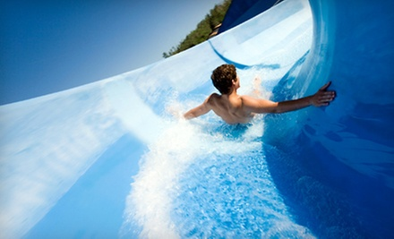 Water-Park Package with Dining Credit and Lockers for Two, Four, or Six at Splash at Wabash in Ferguson (Up to 57% Off)