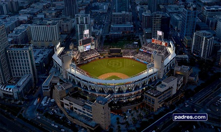 Tickets to a San Diego Padres Game at Petco Park (Up to 40% Off). Multiple Seating and Game Options.