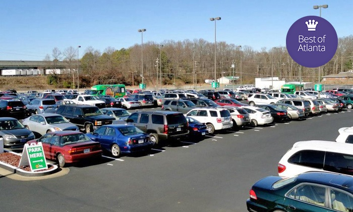 Atlanta airport discount parking coupons