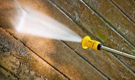Power Washing for a Deck Up to 250 Sq, Ft. or Home Up to 1,000 Sq. Ft. from M & S Home Services (Up to 72% Off)
