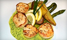 $25 for $50 Worth of Contemporary American Fare at Bistro 72