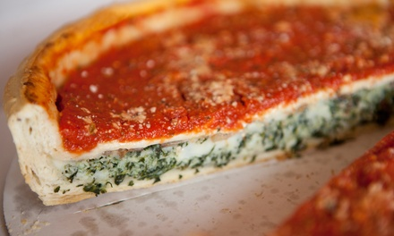 $11 for $20 Worth of Pizza, Subs, and Drinks for Dine-In Service at Mio's Pizzeria