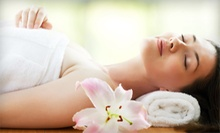 One or Three Spa Packages with Massage and Facial Treatment at Stacy's Skin Care and Melle Massage (Up to 61% Off)