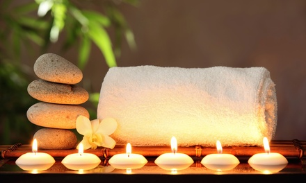 55-Minute Deep-Tissue Massage with Hot Stones, or 75-Minute Massage Package at Cote d'Azur (Up to 48% Off)