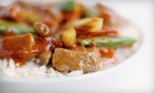 Chinese Meal with Entrees and Fountain Sodas for Two or Four at New St. Louis Wok (Up to Half Off)