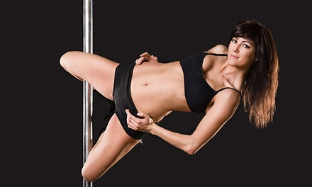 1, 5, or 10 Pole-Dancing Classes or a Pole-Dancing Party for 10 at Vertical Fitness Studio (Up to 55% Off)