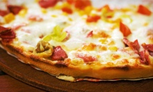 $10 for a Pizza Meal for Two at Uncle Vinny's NY Pizza (Up to $19 Value)