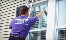 Interior and Exterior Cleaning of 15 Windows or Exterior Cleaning of 25 Windows from Window Genie (Up to 57% Off)