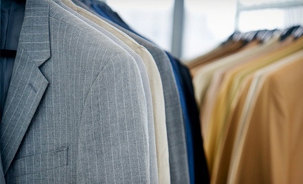 $15 for $35 Worth of Dry Cleaning and Executive Shirt Laundry Service with Pickup and Delivery from Dry Cleaning Express