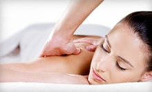 One or Three 60-Minute Massages at Natural Healing Center (Up to 59% Off)