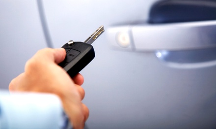 Keyless Remote Starter with Installation or LCD Screen at PolarizAuto (Up to 58% Off)