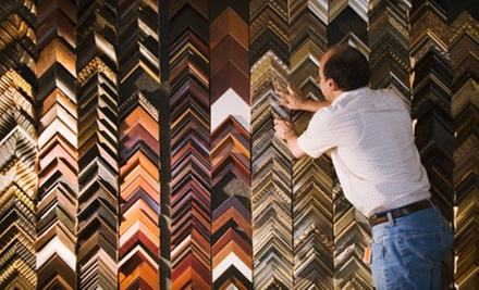 $45 for $100 Worth of Custom Framing at Fox Frame Shop in Woodstock