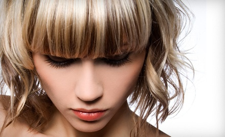 Haircut and a Deep-Conditioning Treatment, or Full Highlights at Charles Ifergan Salon & Day Spa (Up to 52% Off)