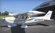 $99 for an Introductory Flight Experience from Tampa Bay Aviation ($205 Value)
