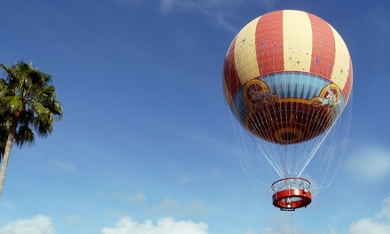 Characters in Flight Tethered Balloon Ride for One or Two from Aerophile (Up to 44% Off)